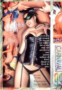 Filme pornô Sexo no salão 1999 capa de Trás