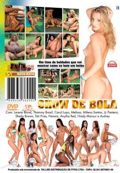 Filme pornô Show De Bola capa de Trás