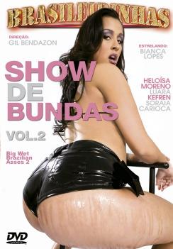 Filme pornô Show De Bundas 2 Capa da frente