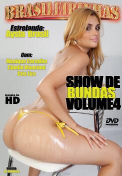 Filme pornô Show De Bundas 4 Capa da frente