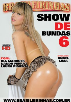 Filme pornô Show de Bundas 6 Capa da frente