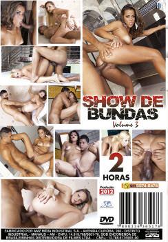 Filme pornô Show De Bundas 3 capa de Trás