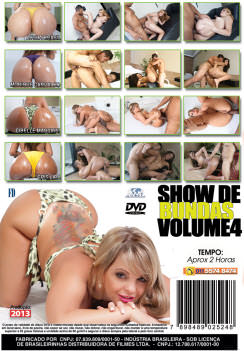 Filme pornô Show De Bundas 4 capa de Trás