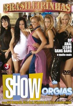 Filme pornô Show de Orgias Capa da frente