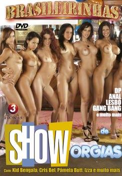 Filme pornô Show de Orgias Capa Hard