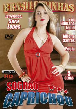 Filme pornô Sogrão Caprichou Capa da frente
