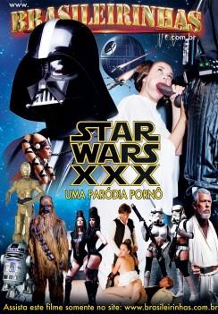 Filme pornô Star Wars XXX Capa Hard