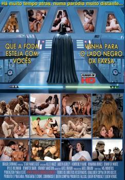 Filme pornô Star Wars XXX capa de Trás