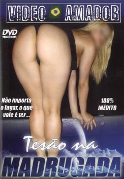 Filme pornô Tesão na Madrugada  Capa da frente