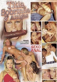 Filme pornô Titia, Sobrinha e Amigas capa de Trás