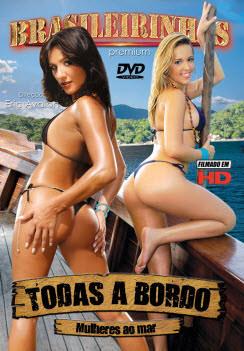 Filme pornô Todas A Bordo Capa da frente