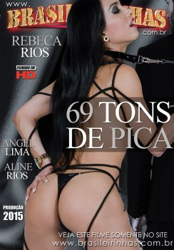 Filme pornô 69 Tons de Pica Capa Hard