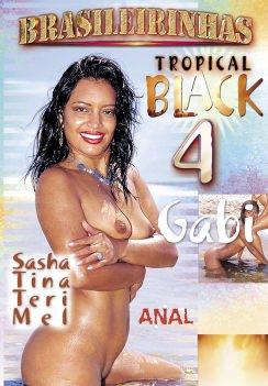 Filme pornô Tropical Black 4 Capa da frente
