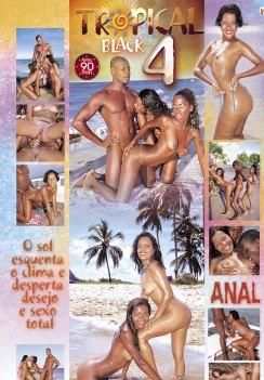 Filme pornô Tropical Black 4 capa de Trás