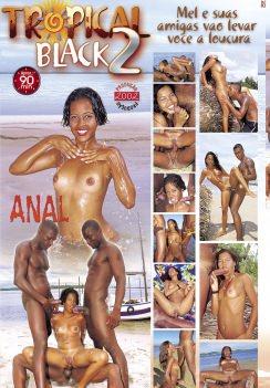Filme pornô Tropical Black 2 capa de Trás