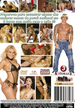Filme pornô United Colors of Celebrities capa de Trás