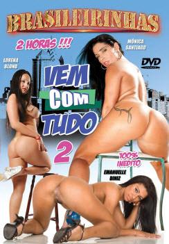 Filme pornô Vem com tudo 2 Capa da frente