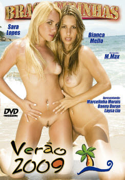 Filme pornô Verão 2009 Capa da frente
