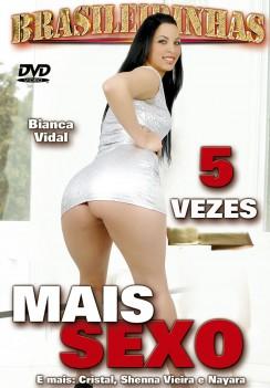 Filme pornô 5 Vezes Mais Sexo Capa da frente