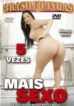 Filme pornô 5 Vezes Mais Sexo Capa Hard