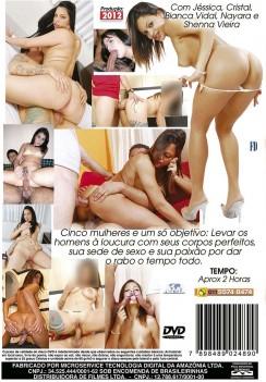 Filme pornô 5 Vezes Mais Sexo capa de Trás