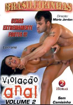 Filme pornô Violação Anal 2 Capa da frente