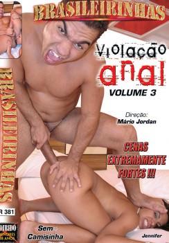 Filme pornô Violação Anal 3 Capa da frente