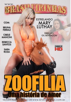 Filme pornô Zoofilia Capa da frente