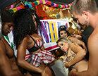 carnaval com muito gang bang no salao mais quente