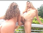 dayne galisteu e geovana mayer fazem putaria lesbo