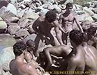 gang bang no meio da praia