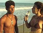 gostosa entrevista bem dotado na praia de nudismo