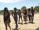 gostosas e bem dotados fazendo sexo gostoso na praia