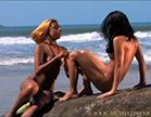 gostosas fazem sexo na praia