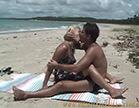 loira safada se entrega pro marmanjo bem dotado na praia