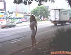 loirinha gostosa na beira da estrada