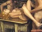 menage com loira no carnaval porno