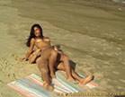 morena gostosa dando gostoso pro bem dotado na praia
