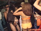 morenas em festa de carnaval