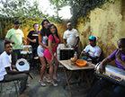 morenas gostosas rebolando com suas bucetas gostosas no samba
