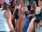 rabuda dancando em carnaval