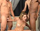 sexo grupal com loira gostosa