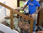 Em mais uma participação no reality show pornô, Amanda Souza caprichou na sen