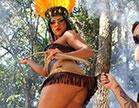 Rebeca Santos a Índia safada das Brasileirinhas, gemeu muito de prazer com a r