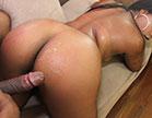 A brasileirinha Jeniffer Blu fodeu gostoso na pica grande do negão, a gata quic