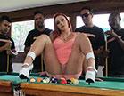 Bruninha Fitness nua traindo o marido com os amigos do corno depois de descobrir