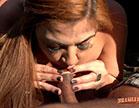 Tais Daeva fodendo com o Kid Bengala no reality show pornô da Brasileirinhas, a