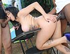 Barbara Alves fodendo gostoso em ménage e fazendo DP com rôlas no rabo, essa n