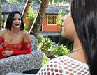 Bianca Naldy anal da deliciosa tarada dando o cu para sobrinha Amanda Souza em s