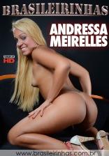 Andressa Meirelles senta e rebola, dá o cu e cospe porra